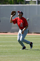 Ryan Groth - Los Angeles Angels - 2009 spring training.Photo by:  Bill Mitchell/Four Seam Images