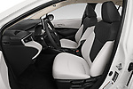 Front seat view of 2020 Toyota Corolla LE 4 Door Sedan Front Seat  car photos