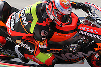 15.06.2013 Barcelona, Spain. Aperol  Catalonia Grand Prix. Picture show Simone Corsi ridding Sped Up during Moto2 qualifyng at Circuit de Catalunya