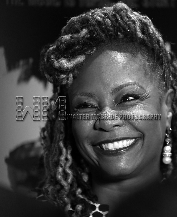 Tonya Pinkins attends the Broadway Opening Night After Party for 'Holler if ya Hear Me'  on June 19, 2014 at Gotham Hall in New York City.