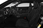Front seat view of a 2016 Astonmartin DB11 Base 2 Door Coupe front seat car photos