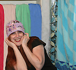 Jane Elissa's Hats for Health which are available through Jane at www. hats for health.com and such locations as the Marriott Marquis Hotel, NYC during various weekends with a portion of the sales donated to charitable causes through Jane Elissa/Charlotte Meyers Endowment Fund one of which is the Leukemia & Lymphoma Society. (Photo by Sue Coflin/Max Photos)