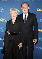 02 February 2019 - Hollywood, California - Helen Mirren, Taylor Hackford. 71st Annual Directors Guild Of America Awards held at The Ray Dolby Ballroom at Hollywood & Highland Center. Photo Credit: F. Sadou/AdMedia