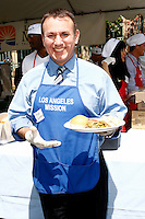 April 2, 2010: Brian Quintana at the LA Mission Easter Luncheon event for the homeless in Los Angeles, California. .Photo by Nina Prommer/Milestone Photo.