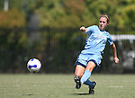 23 September 2007: North Carolina's Meghan Klingenberg. The University of North Carolina Tar Heels defeated the University of San Francisco Dons 2-0 at Koskinen Stadium in Durham, North Carolina in an NCAA Division I Women's Soccer game, and part of the annual Duke Adidas Classic tournament.
