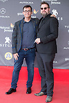 Director of Sitges Festival and dutch director Martin Koolhoven attends to 'Blood Red Carpet' at Sitges Film Festival in Barcelona, Spain October 11, 2017. (ALTERPHOTOS/Borja B.Hojas)