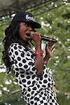 Tweet Performs at  WBLS 5th Annual R&B Fest at Central Park SummerStage, NY