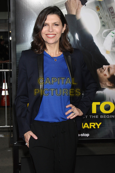 LOS ANGELES, CA - FEBRUARY 24: Finola Hughes at the &quot;Non-Stop&quot; Premiere, Village Theater, Westwood,  February 24, 2014. <br /> CAP/MPI/JO<br /> &copy;JO/MPI/Capital Pictures