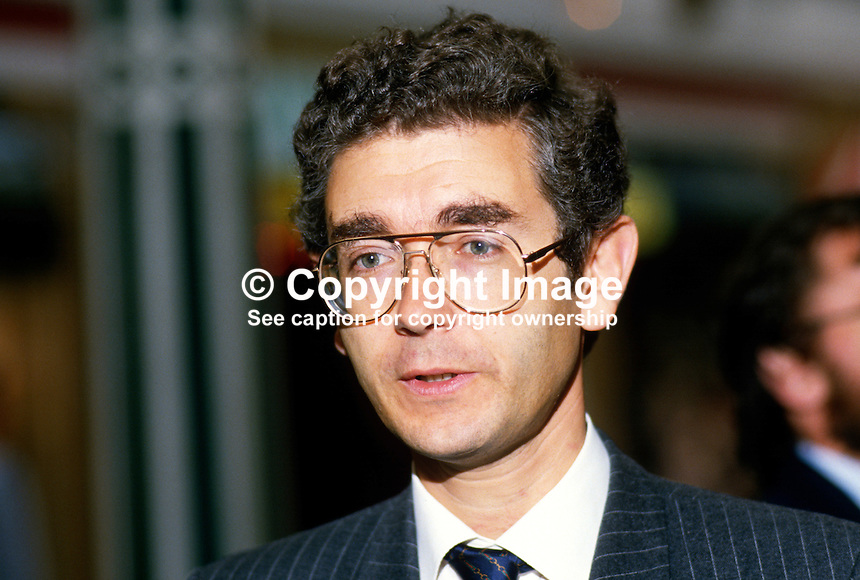 Jacques Arnold, MP, Conservative Party, UK, 19871007JA..Copyright Image from Victor Patterson, 54 Dorchester Park, Belfast, UK, BT9 6RJ..Tel: +44 28 9066 1296.Mob: +44 7802 353836.Voicemail +44 20 8816 7153.Skype: victorpattersonbelfast.Email: victorpatterson@me.com.Email: victorpatterson@ireland.com (back-up)..IMPORTANT: If you wish to use this image or any other of my images please go to www.victorpatterson.com and click on the Terms & Conditions. Then contact me by email or phone with the reference number(s) of the image(s) concerned.