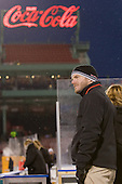Steve Clark - The University of New Hampshire Wildcats defeated the Northeastern University Huskies 5-3 (EN) on Friday, January 8, 2010, at Fenway Park in Boston, Massachusetts as part of the Sun Life Frozen Fenway doubleheader.