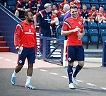 Ikechi Anya and Russell Martin