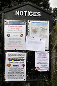 Dull - Pertshire - now officially paired with Boring - Oregon USA - local notices - picture by Donald MacLeod - 23.06.12 - 07702 319 738 - clanmacleod@btinternet.com - www.donald-macleod.com
