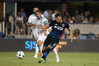 San Jose, CA - Wednesday July 25, 2018: Vako during a Major League Soccer (MLS) match between the San Jose Earthquakes and the Seattle Sounders FC at Avaya Stadium.