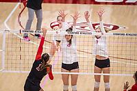 Stanford Volleyball W v Utah, October 20, 2019