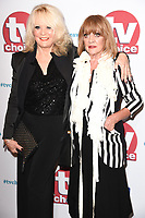 Sherrie Hewson and Amanda Barrie<br /> arriving for the TV Choice Awards 2017 at The Dorchester Hotel, London. <br /> <br /> <br /> &copy;Ash Knotek  D3303  04/09/2017