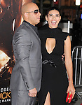 Paloma Jimenez and Vin Diesel<br />  at The Universal Pictures' World Premiere of Riddick held at The Westwood Village in Westwood, California on August 28,2013                                                                   Copyright 2013 Hollywood Press Agency