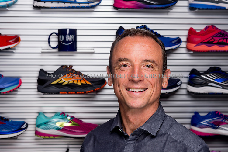8/1/2016-- Seattle, WA, USA<br /> <br /> Patrick Pons de Vier, Senior Vice President of Global Footwear at Brooks.<br /> <br /> Photograph by Stuart Isett. &copy;2016 Stuart Isett. All rights reserved.