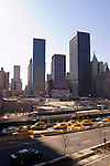 New York City, New York: Ground Zero in Lower Manhattan for 9-11 terrorist attack on World Trade Towers.  .Photo #: ny234-14776  .Photo copyright Lee Foster, www.fostertravel.com, lee@fostertravel.com, 510-549-2202.