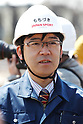 Tadashi Mochizuki, MARCH 20, 2017 : Construction of Tokyo 2020 new stadium continues. (Photo by Sho Tamura/AFLO SPORT)