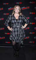 NEW YORK, NY - October 6:  Carina Adly MacKenzie at New York Comic Con 2018 promoting The CW's  Roswell, New Mexico at the Jacob K. Javits Convention Center in New York City on October 06, 2018. <br /> CAP/MPI/RW<br /> &copy;RW/MPI/Capital Pictures