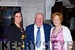 Enjoying the South West Harriers Hunt club social in the Killarney Avenue Hotel on Saturday night were l-r: Mary Cronin, Paddy O'Sullivan, Theresa O'Sullivan