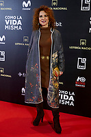 Vicky Larraz attends to 'Como la Vida Misma' film premiere during the 'Madrid Premiere Week' at Callao City Lights cinema in Madrid, Spain. November 12, 2018. (ALTERPHOTOS/A. Perez Meca) /NortePhoto.com