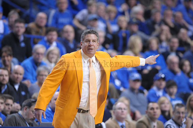 Tennessee Head Coach Bruce Pearl during the second half of the University of Kentucky Men's basketball game against Tennessee at Rupp Arena in Lexington, Ky., on 2/8/11. Uk won the game 73-61. Photo by Mike Weaver | Staff