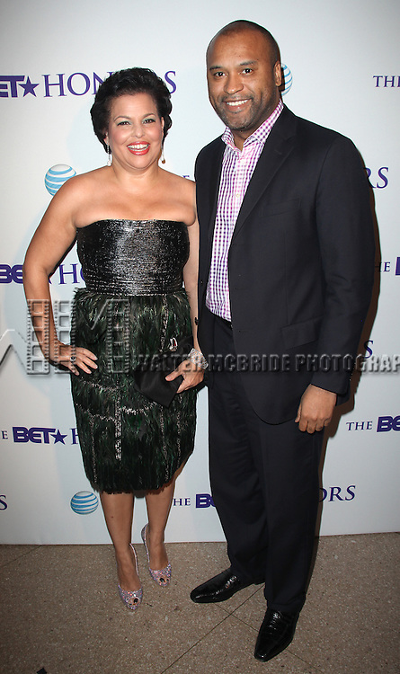 Debra Lee & Randell Coleman.attends the BET Honors 2012 Pre-Honors dinner at the Corcoran Gallery of Art on January 13, 2012 in Washington, DC.
