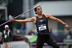 EUGENE, OR - JUNE 10: Kendell Williams of the University of Georgia competes in the javelin as part of the Heptathlon during the Division I Women's Outdoor Track & Field Championship held at Hayward Field on June 10, 2017 in Eugene, Oregon. (Photo by Jamie Schwaberow/NCAA Photos via Getty Images)