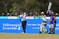 Rod Pampling (AUS) on the 3rd tee during Round 3 of the Australian PGA Championship at  RACV Royal Pines Resort, Gold Coast, Queensland, Australia. 21/12/2019.<br /> Picture Thos Caffrey / Golffile.ie<br /> <br /> All photo usage must carry mandatory copyright credit (© Golffile | Thos Caffrey)