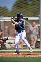 Dylan Crews during the WWBA World Championship at the Roger Dean Complex on October 18, 2018 in Jupiter, Florida.  Dylan Crews is an outfielder from Longwood, Florida who attends Lake Mary High School and is committed to Louisiana State.  (Mike Janes/Four Seam Images)