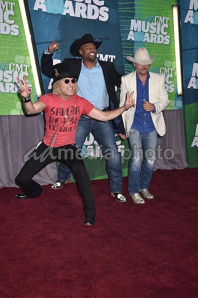 10 June 2015 - Nashville, Tennessee - Big Kenny, Cowboy Troy, John Rich. 2015 CMT Music Awards held at Bridgestone Arena. Photo Credit: Laura Farr/AdMedia