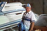 Ed Karelsen, race boat builder extraordinaire, shot for a story on him in PowerBoat Magazine.