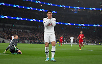 Son Heung-Min of Spurs after a missed opportunity during the UEFA Champions League group match between Tottenham Hotspur and Bayern Munich at Wembley Stadium, London, England on 1 October 2019. Photo by Andy Rowland.