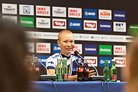 Picture by Richard Blaxall/SWpix.com - 28/09/2018 - Cycling 2018 Road Cycling World Championships Innsbruck-Tirol, Austria - Men's U23 Road Race - Jaakko Hanninen of Finland winning Bronze, Press Conference