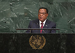 72 General Debate &ndash; 23rd of September  2017<br /> <br /> H.E. Augustine Phillip MAHIGA<br /> Minister for Foreign Affairs,<br /> East Africa, Regional and<br /> International Cooperation of the<br /> UNITED REPUBLIC OF TANZANIA