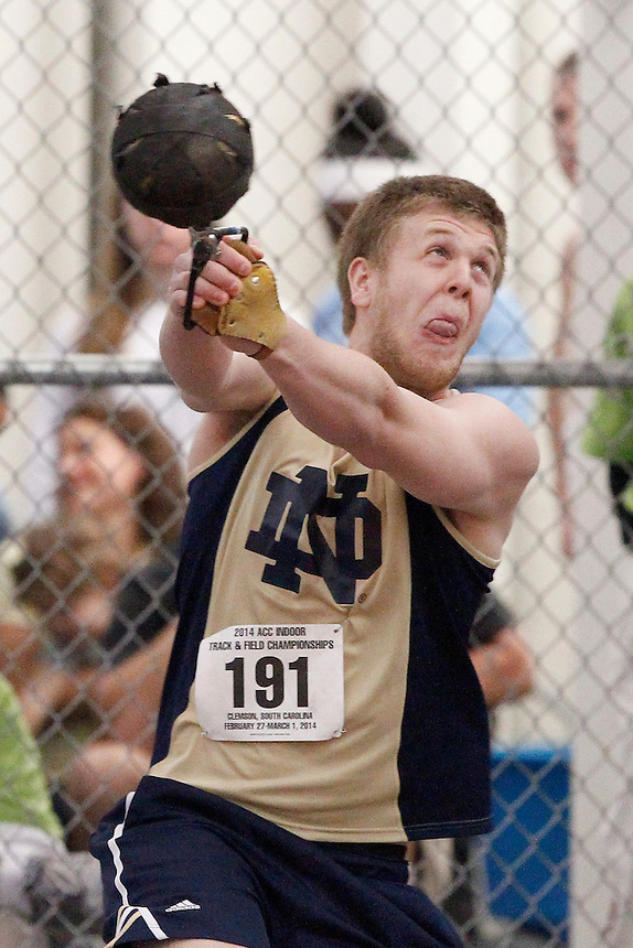 Notre Dame's Anthony Shivers (191)
