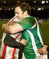 Photo: Richard Lane/Richard Lane Photography. England Legends v Ireland Legends. The Stuart Mangan Memorial Cup. 26/02/2010. Rob Henderson.