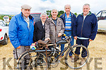 James Collins (Abbeyfeale), Patricia and John Lane (Abbeyfeale), John Sheehy (Ballyheigue) and Gerry Wall (Charleville) standing with a 1960 Road Bike at the Kilflynn Vintage Rally on Sunday.