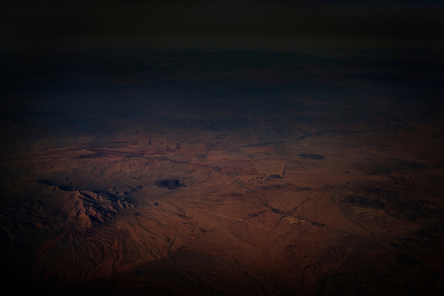 December 29, 2011 - Views of Earth from an airplane flight from Houston to Los Angeles.