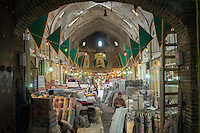 June 08, 2014 - Tabriz, Iran. A view of the local Grand Baazar, the oldest in the Middle East. Despite the increasing number of malls opened around the country, many Iranians still prefer to shop in traditional bazaars. © Thomas Cristofoletti / Ruom