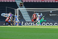 Arnaut Danjuma of Bournemouth left scores the third goal during AFC Bournemouth vs Blackburn Rovers, Sky Bet EFL Championship Football at the Vitality Stadium on 12th September 2020