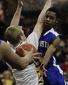 Rochester vs Rochester Adams at Oakland University, Boys Varsity Basketball, 1/13/12