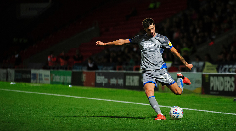 Lincoln City's Ellis Chapman<br /> <br /> Photographer Andrew Vaughan/CameraSport<br /> <br /> EFL Leasing.com Trophy - Northern Section - Group H - Doncaster Rovers v Lincoln City - Tuesday 3rd September 2019 - Keepmoat Stadium - Doncaster<br />  <br /> World Copyright © 2018 CameraSport. All rights reserved. 43 Linden Ave. Countesthorpe. Leicester. England. LE8 5PG - Tel: +44 (0) 116 277 4147 - admin@camerasport.com - www.camerasport.com