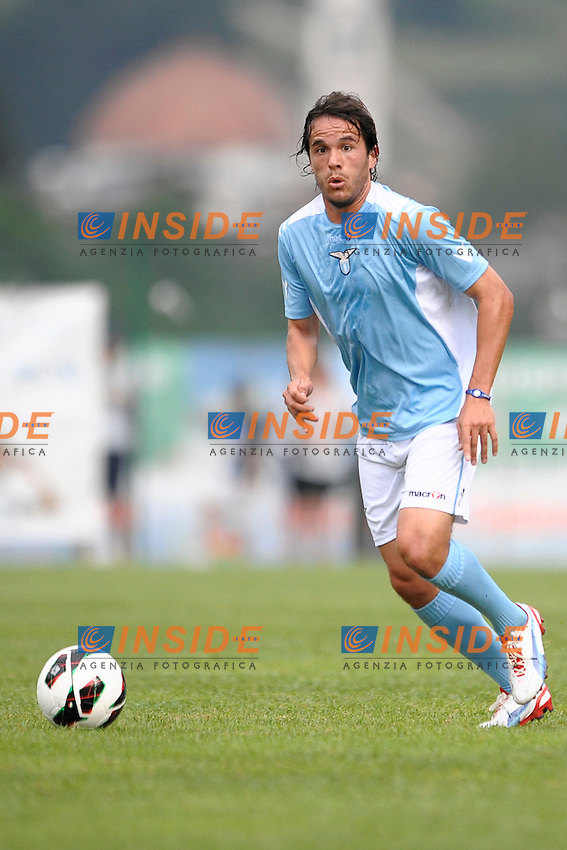 Alvaro Gonzalez Lazio.Auronzo di Cadore 20/7/2012.Football Calcio 2012 / 2013 .Amichevole Friendly Match.SS Lazio Vs Top 11 Calcio Club 103.Foto Insidefoto.