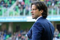 GRONINGEN - Voetbal, FC Groningen - FC Twente,  Eredivisie , Noordlease stadion, seizoen 2017-2018, 24-09-2017,   FC Groningen trainer Ernest Faber