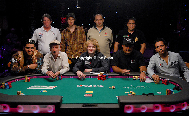 The Final Table Nine
