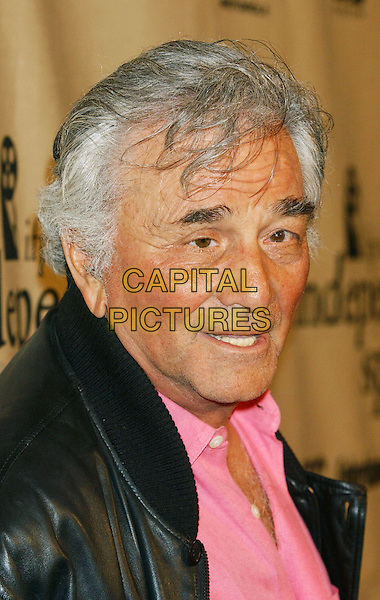 PETER FALK.Spirit Awards .colombo, headshot, portrait.www.capitalpictures.com.sales@capitalpictures.com.© Capital Pictures.