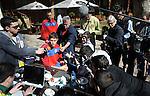 FUDBAL, JOHANEZBURG, 14. Jun. 2010. - Golman Vladimir Stojkovic u razgovoru sa novinarima sedmog dana boravka u Johanezburgu. Foto: Nenad Negovanovic