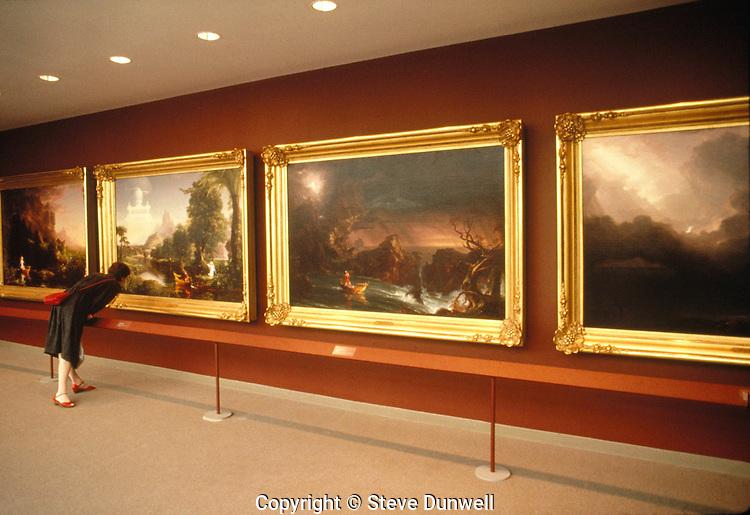 Dutch Landscape at Museum of Fine Arts, Boston, MA